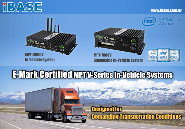 In-Vehicle Fanless Box PC with e/E-Mark and WWAN Redundancy - MPT-3000V