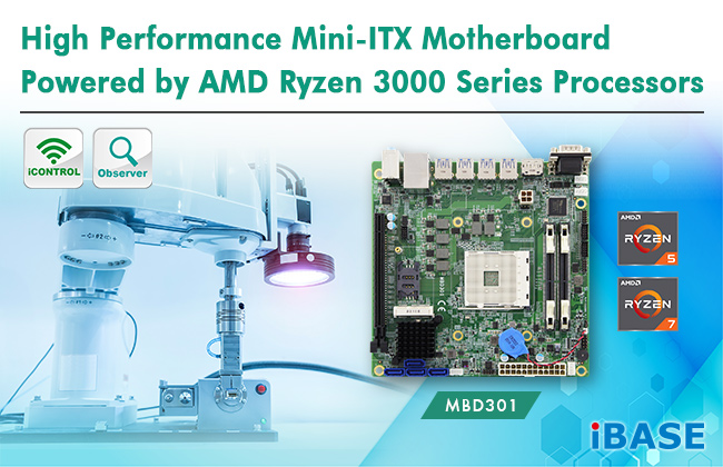 AMD Ryzen™ Desktop Processor Mini-ITX Motherboard