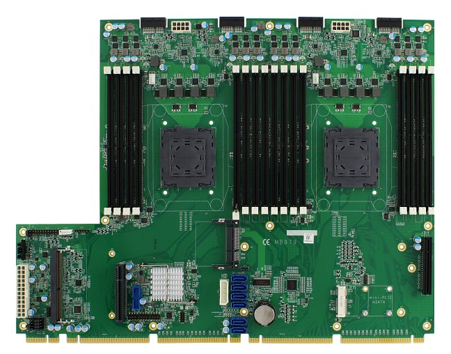 Intel® Xeon® E5-2600 V4/V3 processors Networking Motherboard with